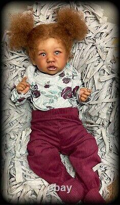 Reborn baby dolls, saskia By Bonnie Brown, Biracial CUSTOM ORDEr oNly