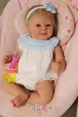 Reborn baby girl Greta by Andrea Arcello, Limited Edition Vinyl Doll ON SALE NOW