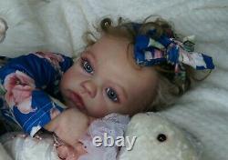 Reborn baby toddler Kylie(Romie Strydom)prototype reborn artist Nataliya Konoval