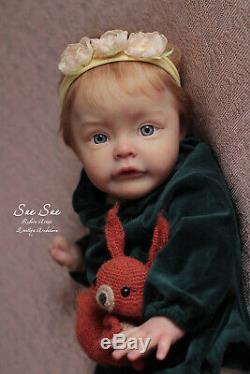 Reborn doll Sue Sue kit by Natali Blick Artist Emiliya Aredakova