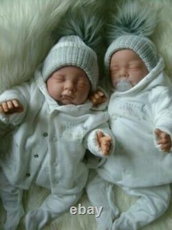 Reborn dolls twin babies life like newborn babies child friendly now play dolls
