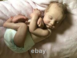 Reborn girlkit Levi by Bonnie BrownOrange Blossom Nursery