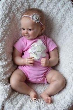 Reborn lifelike Art Doll Baby Greta Arcello