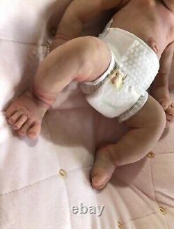 Reborn silicone baby full body Girl Ella