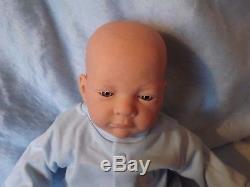 SHY Blue Eyed BOY Reborn Fake Baby Babies Lifelike Doll Child Girl Birthday BJLS