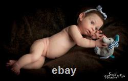 SILICONE Reborn Baby Cosette #4 PRE-SALE- Small Wonders by Kyla SWK Reborn