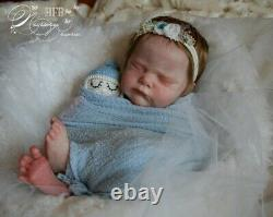 SOLD OUT Reborn baby doll Genevieve by Cassie Brace Limited Edition