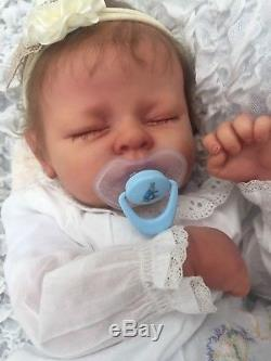 Sale Reborn Baby Doll From Linda Murray Sculpt Rose Doll Show Baby 2018 Rooted