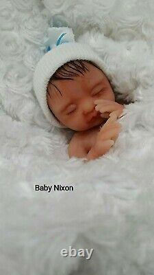 Sale Sale Full Silicone Baby Nixon With Rooted Hair