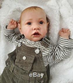 Saskia Reborn Baby Doll By Bonnie Brown