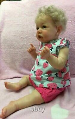 Saskia Reborn Baby Girl By Bonnie Brown Pre-owned