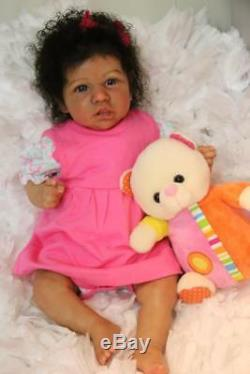 Saskia by Bonnie Brown LE YOU CUSTOM ORDER REBORN BABY DOLL AA Ethnic Biracial