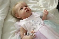 Saskia by Bonnie Brown Reborn Baby Girl made from Authentic Kit