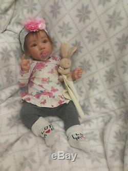 Saskia reborn baby doll by Bonnie Bown