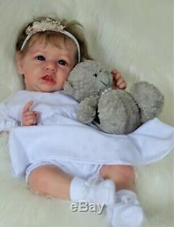 Saskia reborn doll baby, reborn artist Olga Konovnina, sweet babies