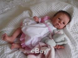 Seventh Heaven Reborn Baby Girl Doll Millie By Olga Auer Limited Edition