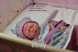 Silicone baby doll full body Valentina reborn sweet chocolates layaway aval