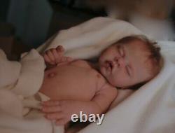 Silicone baby full body JHONNIE sculpt by Ina Volprich, Privilege Reborn, COA