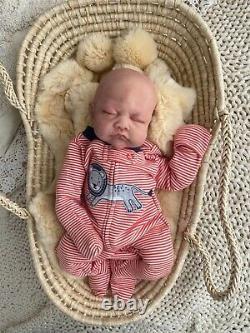 Silicone preemie cuddle baby doll NEW