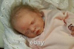 Soft silicone full body baby girl doll Cate