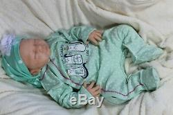 Soft silicone full body baby girl doll Emma #1