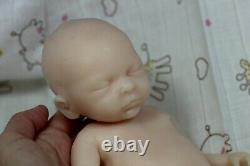 Soft silicone full body baby girl doll unpainted