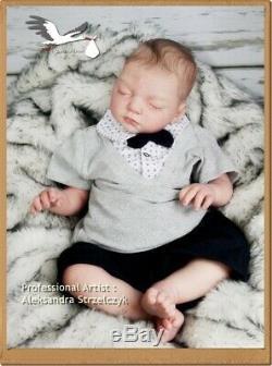 Studio-Doll Baby Reborn BOY JOSHUA by REVA SCHICK so real