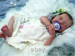 Studio-Doll Baby Reborn GIRL HAPPY by Adrie Stoete SO CUTE BABY