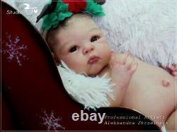 Studio-Doll Baby Reborn GIRL PARIS by Adrie Stoete SO CUTE BABY