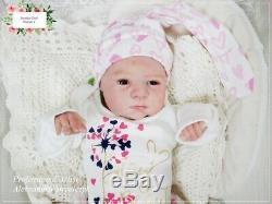 Studio-Doll Baby Reborn GIRL Sloan by TOBY MORGAN so real limt. Edit