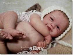 Studio-Doll Baby Reborn GIRL VIVIENNE BY Sandy Faber so real