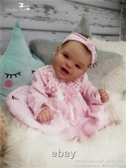 Studio-Doll Baby Reborn GIrl ELIANNA by Bonnie Leah Sieben like real baby 21