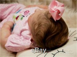 Studio-Doll Baby Reborn GIrl JUNE AWAKE by REALBORN like real baby