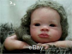 Studio-Doll Baby Reborn Girl LANNY by OLGA AUER limited edition so real