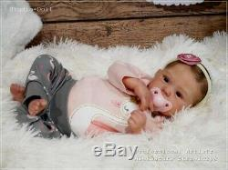 Studio-Doll Baby Reborn Girl MINDY by Adrie Stoete 17' so real