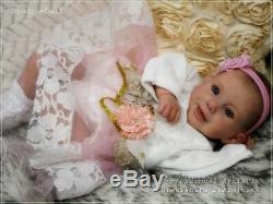 Studio-Doll Baby Reborn Girl MINYA by Ina Volprich so real