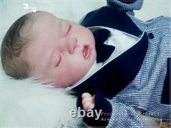 Studio-Doll Baby Reborn boy CHARLEE by SANDY FABER like real baby