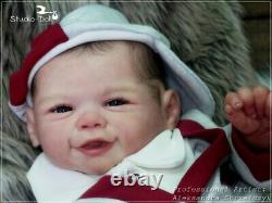 Studio-Doll Baby Reborn boy VIVIENNE by SANDY FABER like real baby