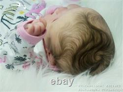 Studio-Doll Baby Reborn girl AMELIE by SANDY FABER like real baby