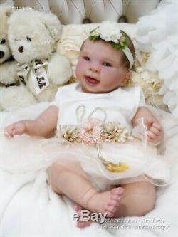 Studio-Doll Baby Reborn girl NALA by SANDY FABER like real baby 22inch