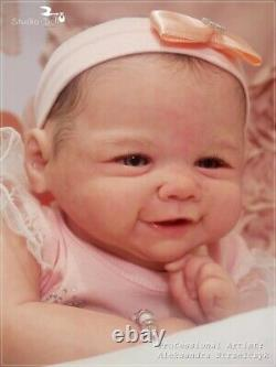 Studio-Doll Baby Reborn girl Vievienne by SANDY FABER like real baby