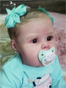 Studio-Doll Baby TODDLER baby Violet by Jannie De Lange 24 inch