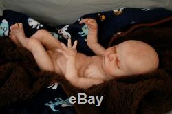 Sweet Amazing Reborn baby doll boy Max Sculpt 14'' anatomically correct