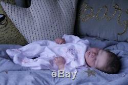 Sweet Amazing Reborn baby doll girl Darren Sleeping 17.5