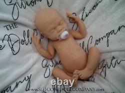 The Silicone Doll Company BLANK UNPAINTED Full Body Baby Girl Drink/Wet