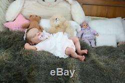 Twin A by Bonnie Brown. Beautiful Reborn Baby Doll with COA