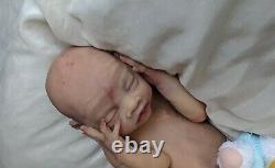 Ultra Realistic Full Body Silicone Preemie Baby Boy Spice by Ana Healey Eco 20