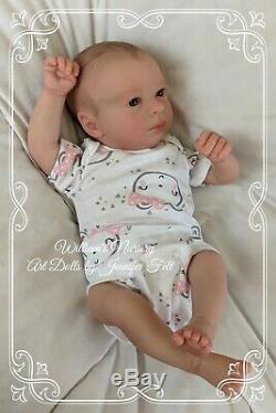 WILLIAMS NURSERY REBORN BABY GIRL DOLL Realborn Aria Awake REALISTIC NEWBORN